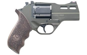 CHIAPPA RHINO 3″ 30DS Revolver | OD Green | .357 Magnum/.38 Special (340.285)