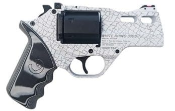 CHIAPPA RHINO 3″ 30DS Revolver | White Rhino | .357 Magnum/.38 Special | LIMITED QUANTITY AVAILABLE! (340.262)