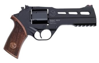 CHIAPPA RHINO 5″ 50DS Revolver | Black | 9mm (340.245)