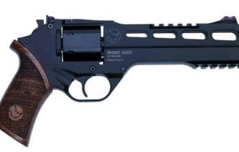 CHIAPPA RHINO 6″ 60DS Revolver | Black | .357 Magnum/.38 Special (340.221)
