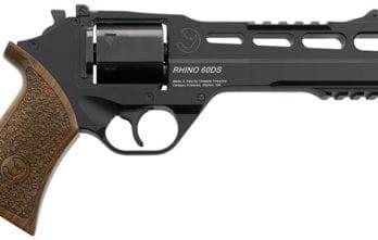 CHIAPPA RHINO 6″ 60DS Revolver | Black | 9mm (340.167)