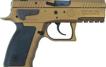 Kriss Sphinx – SDP Compact ALPHA 9mm Pistol | Burnt Bronze | 15rd (S4WWSXXE022)