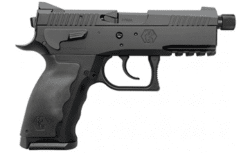 Kriss Sphinx – SDP Compact Duty 9mm Pistol – Black | 17rd | Threaded Barrel
