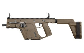 Kriss Vector – .45ACP Pistol with Stabilizing Brace FDE  (KV45-PSBFD20)
