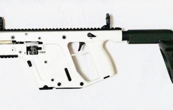 KRISS VECTOR – 9mm Pistol w/ Stabilizing Brace | Alpine White (KV90-PSBAP20)