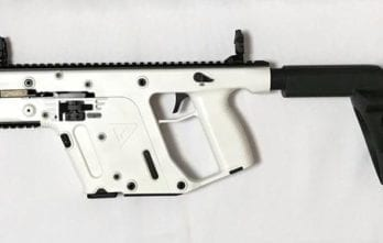 Kriss Vector – .45ACP Pistol with Stabilizing Brace Alpine White  (KV45-PSBAP20)