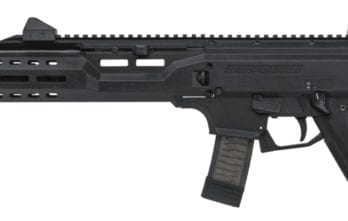 CZ Scorpion EVO 3 S1 Pistol | Black | 9mm | Flash Can (91353)