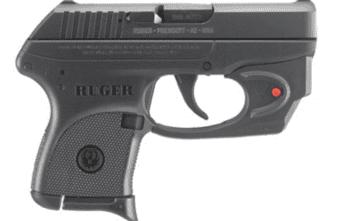Ruger LCP-VL (3752), Viridian Red Laser