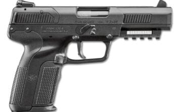 FNH FIVE-SEVEN 5.7X28, BLK, 20/10+1 | AS | 3-10RD MAGS (plus 1-20rd mag) | ACCESSORY RAIL  (FN3868929302)