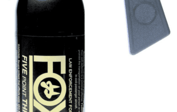 FOX Pepper Spray – 5.3 Million SHU,16 oz. Pistol Grip, Pepper Spray Fogger