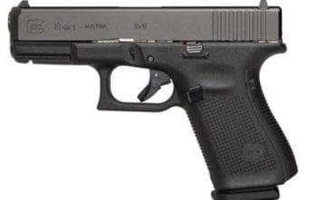 GLOCK – G19 G5 9MM 15+1 4.0″ FS 3-15RD MAGS | ACCESSORY RAIL 9mm (UA1950203)