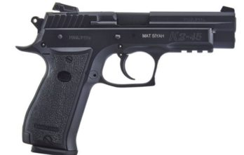 SAR USA K2 45 .45ACP Pistol 4.7″ Barrel – BLACK| 14rd