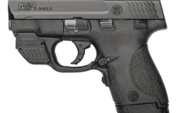 S&W M&P®9 SHIELD™ CRIMSON TRACE® GREEN LASERGUARD® (10141)