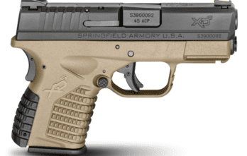 Springfield Armory – 3.3″ SINGLE STACK .45ACP FDE (XDS93345DEE)
