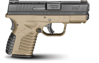 Springfield Armory – 3.3″ SINGLE STACK 9MM FDE (XDS9339DEE)