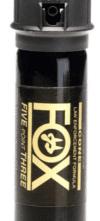 FOX PEPPER SPRAY – Five Point Three®   2oz., 2% OC, Cop Top Medium Cone Fog Spray Pattern