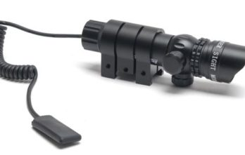 Armed Forces Laser Sight Module | LaserScope Green Laser w/ Shield