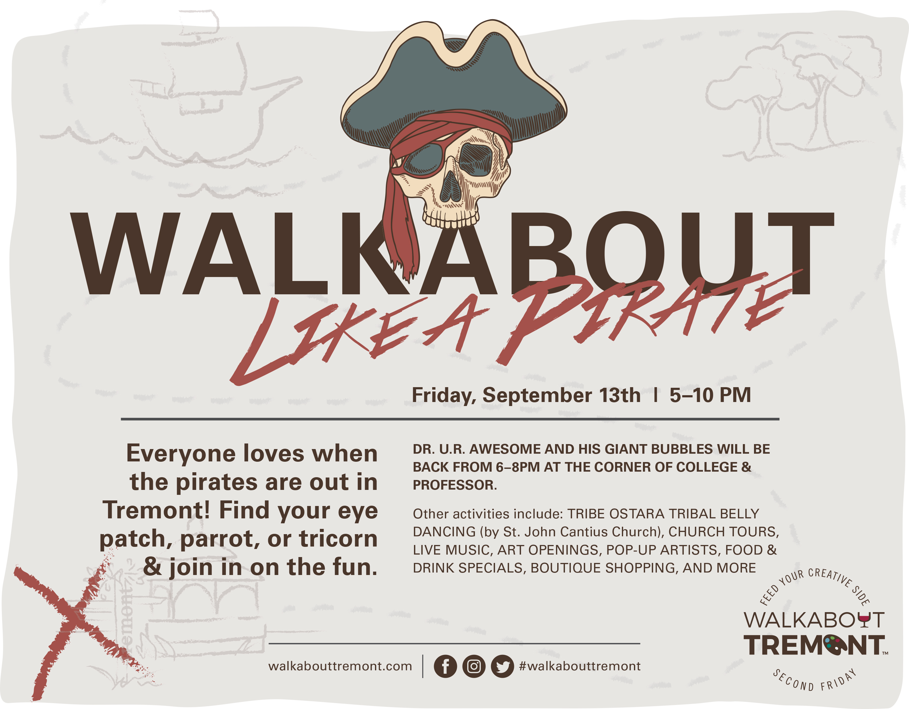 SEPTEMBER WALKABOUT TREMONT BRINGS UNTOLD TREASURES TO CLEVELAND