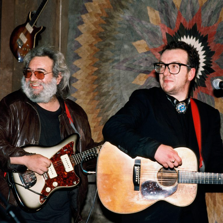 Sweetwater Music Hall - Jerry Garcia and Elvis Costello