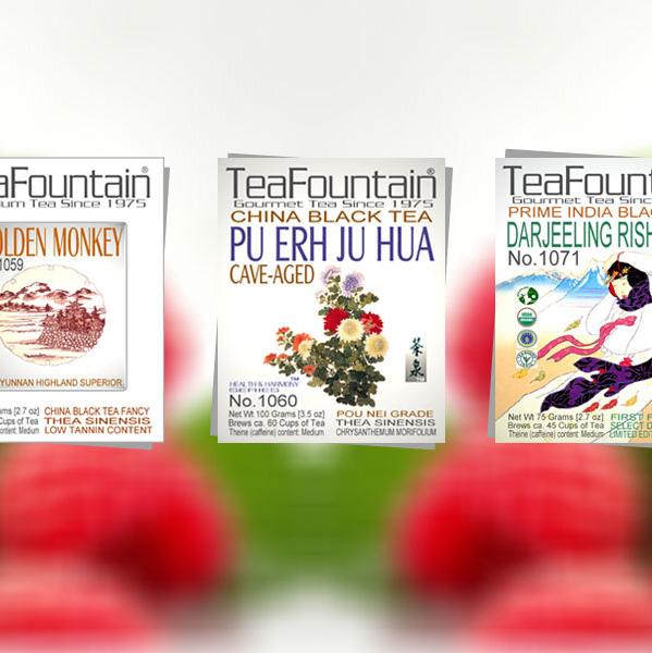 TeaFountain Gourmet Tea