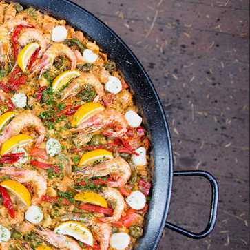 The Spanish Table - paella