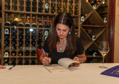 Hallie-book-signing