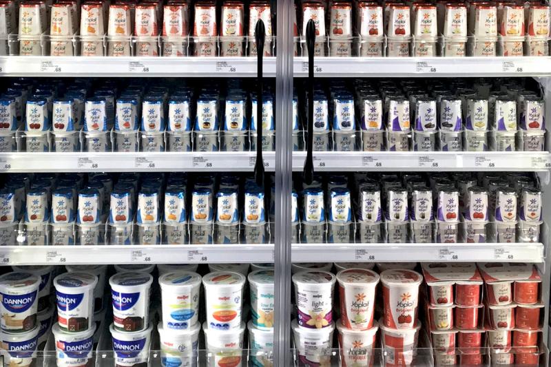Dairy Shelving