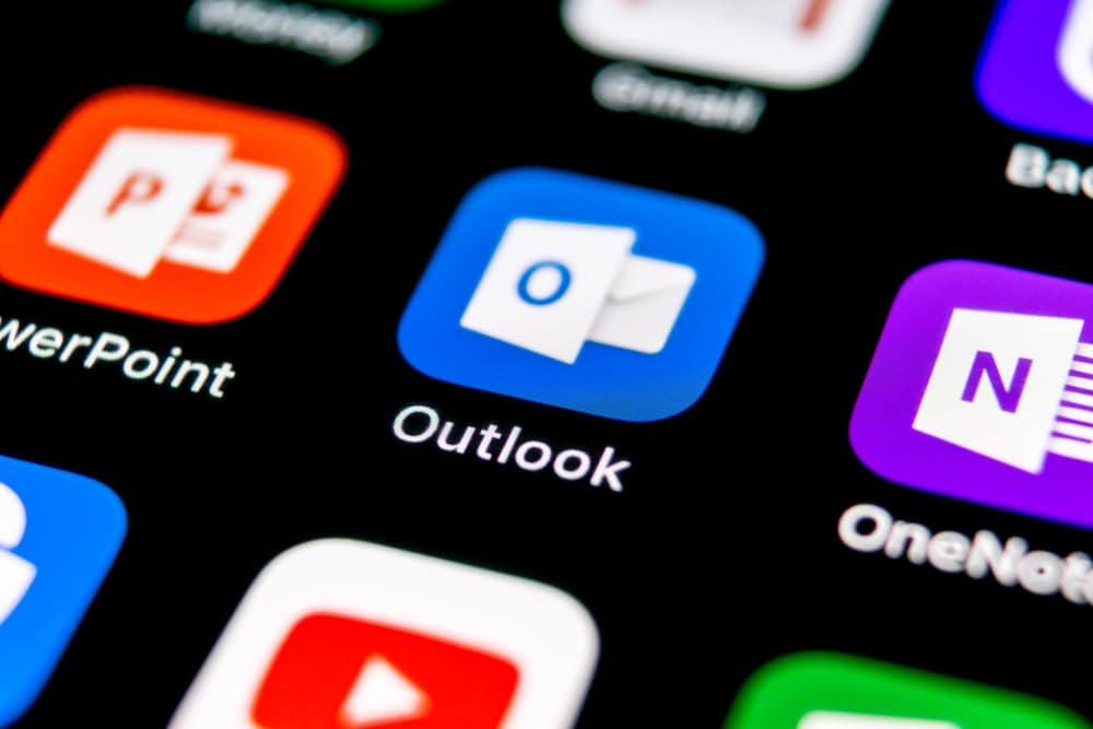Microsoft Outlook office application icon