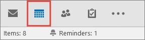Click Outlook Calendar