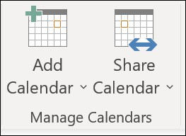 Sharing Outlook Button
