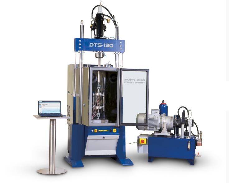 Advanced Asphalt's Pavetest DTS130 - 130KN Servo-Hydraulic Dynamic Testing System