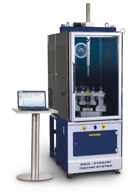 Advanced Asphalt's Pavetest DTS30 - 30KN Servo-Hydraulic Dynamic Testing System
