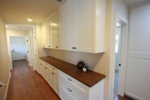 custom cabinets in long hallway amazing storage
