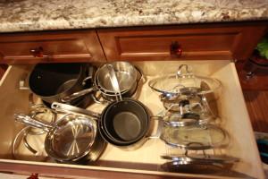 pot and pan drawers