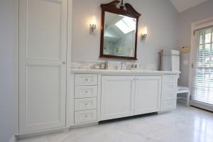 flush fit custom vanity