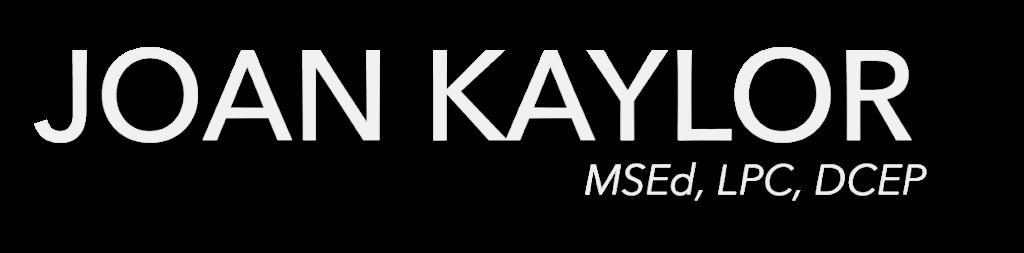Joan Kaylor Header Graphic Logo