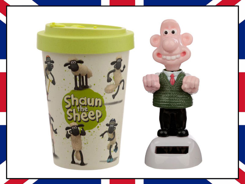 WALLACE AND GROMIT AND SHAUN THE SHEEP