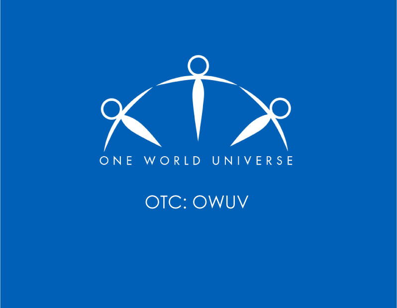 One World Universe Inc. Management to GIFT $1.5M to Company