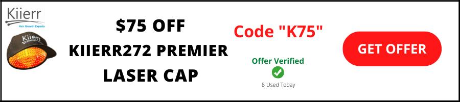 Kiierr md laser cap coupon