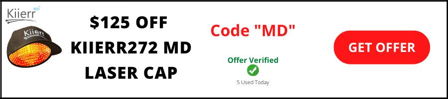 kiierr md laser cap coupons