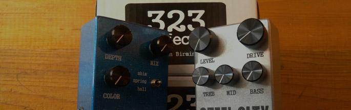 323 Effects Pedals Birningham AL
