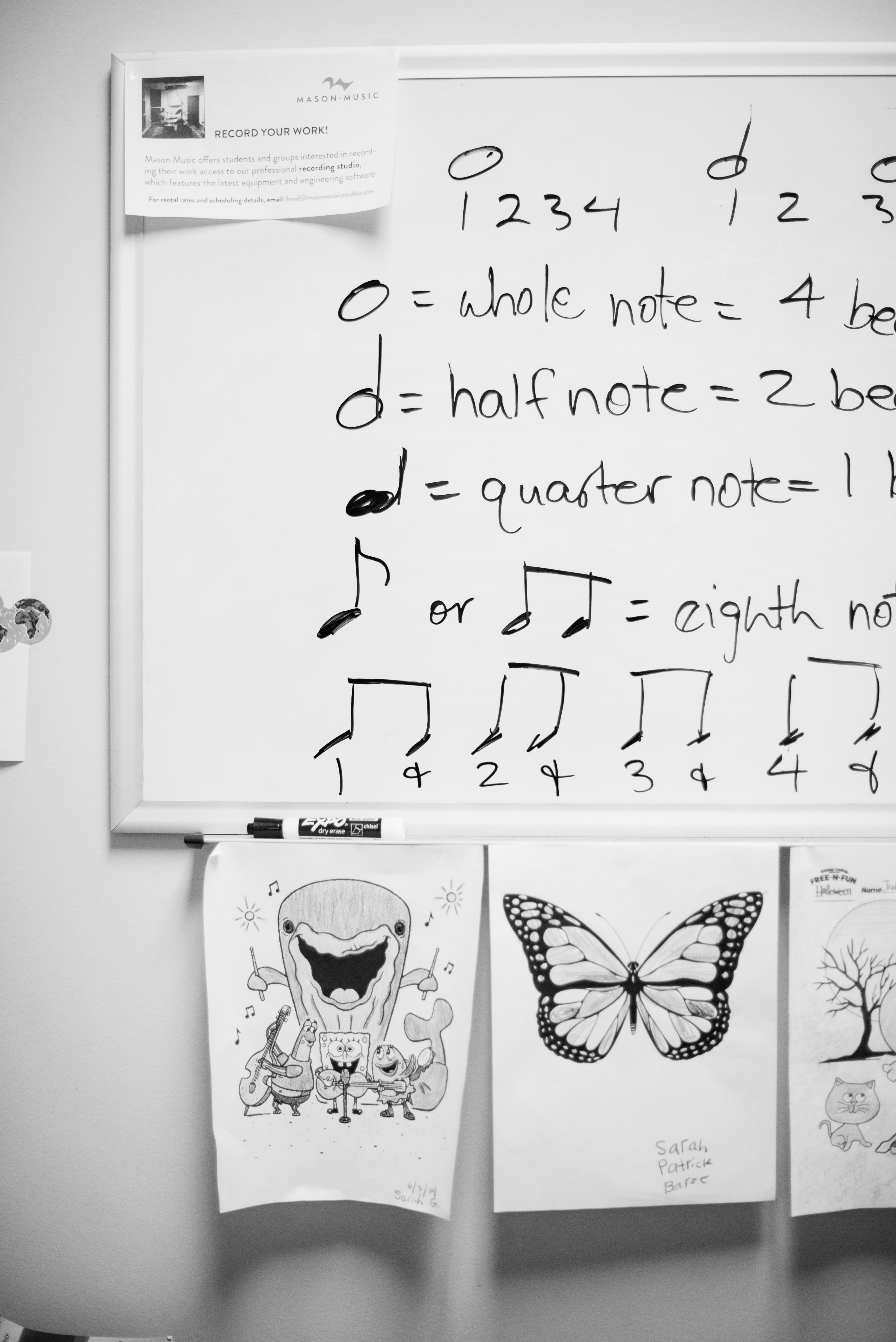 Music Theory is an important part of learning music at Mason Music in Birmingham, Alabama.