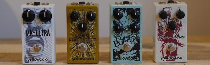 Yellowcake Pedals