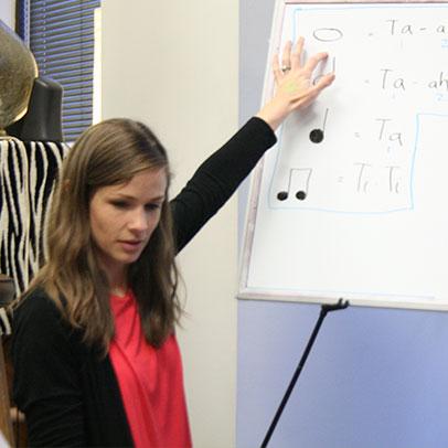 Preschool music class in Birmingham, AL