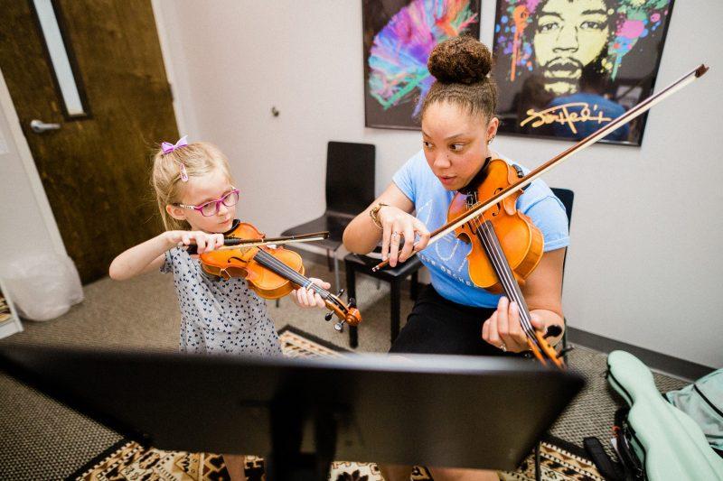 Violin Lessons At Mason Music