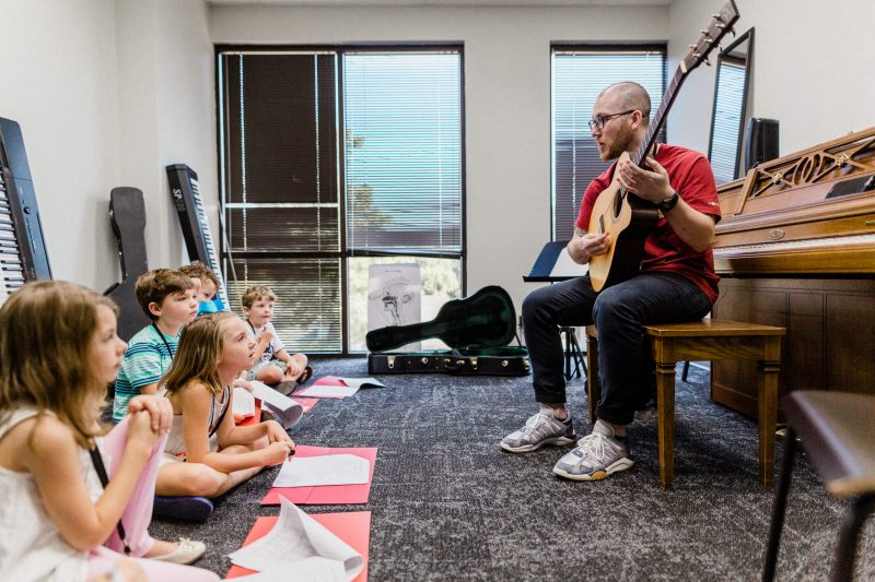 Summer Beginner Music Camp at Mason Music