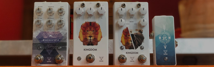 Mason Music carries Foxpedals