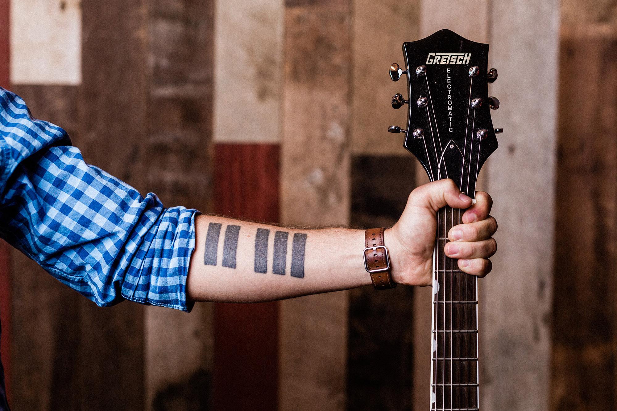 Will Mason Piano Keys Tattoo