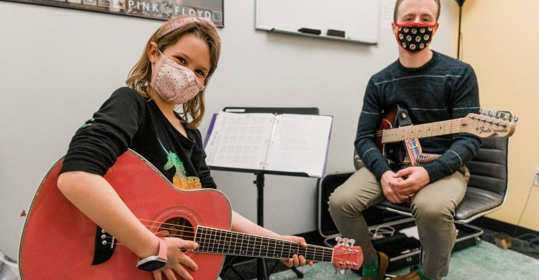 Safe In Studio Music Lessons at Mason Music