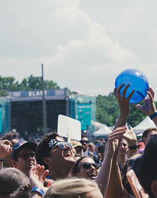 crowd shot from Sloss Fest